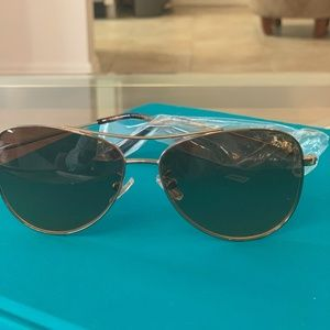 Coach Gold Frame Sunglasses